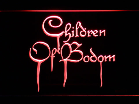 Image of Children of Bodom LED Neon Sign - Red - SafeSpecial