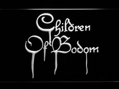 Children of Bodom LED Neon Sign - White - SafeSpecial