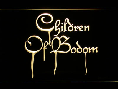 Children of Bodom LED Neon Sign - Yellow - SafeSpecial