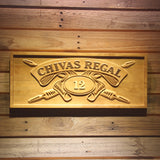 Chivas Regal 12 Wooden Sign - Small - SafeSpecial