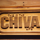 Chivas Regal Life Wooden Sign - - SafeSpecial