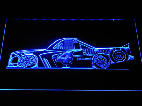 Christopher Bell Race Car LED Neon Sign - Blue - SafeSpecial