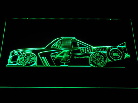 Christopher Bell Race Car LED Neon Sign - Green - SafeSpecial