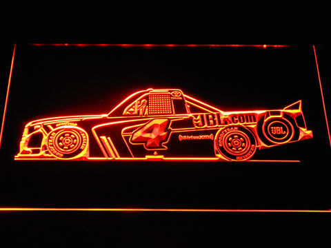 Christopher Bell Race Car LED Neon Sign - Orange - SafeSpecial