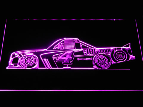 Christopher Bell Race Car LED Neon Sign - Purple - SafeSpecial