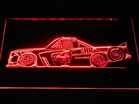 Christopher Bell Race Car LED Neon Sign - Red - SafeSpecial