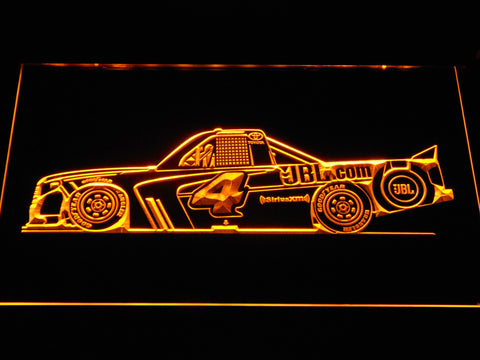 Christopher Bell Race Car LED Neon Sign - Yellow - SafeSpecial