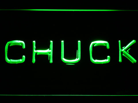 Image of Chuck LED Neon Sign - Green - SafeSpecial