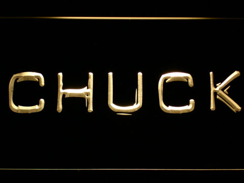 Image of Chuck LED Neon Sign - Yellow - SafeSpecial