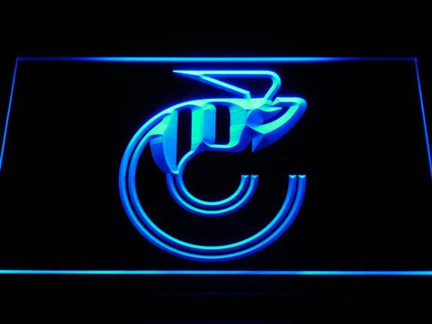Cincinnati Stingers Logo LED Neon Sign - Legacy Edition - Blue - SafeSpecial