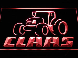 Claas LED Neon Sign - Red - SafeSpecial