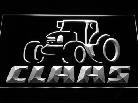 Claas LED Neon Sign - White - SafeSpecial
