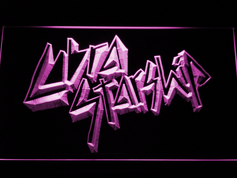Image of Cobra Starship LED Neon Sign - Purple - SafeSpecial