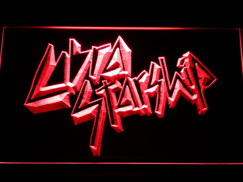 Image of Cobra Starship LED Neon Sign - Red - SafeSpecial