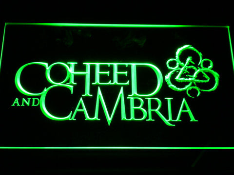 Image of Coheed and Cambria LED Neon Sign - Green - SafeSpecial