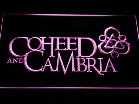 Image of Coheed and Cambria LED Neon Sign - Purple - SafeSpecial
