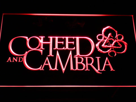 Image of Coheed and Cambria LED Neon Sign - Red - SafeSpecial