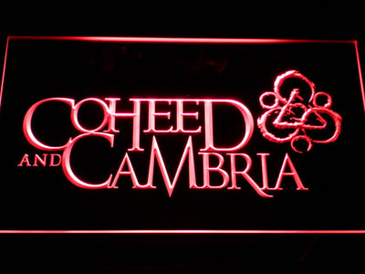 Coheed and Cambria LED Neon Sign - Red - SafeSpecial