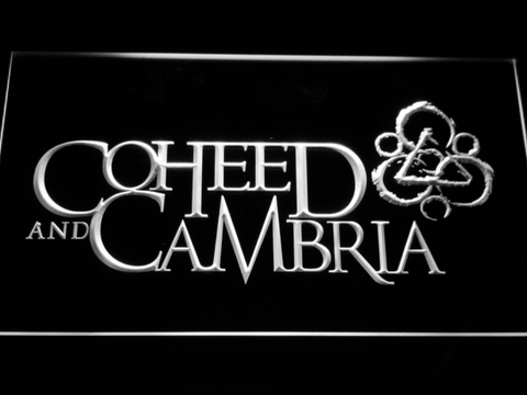 Image of Coheed and Cambria LED Neon Sign - White - SafeSpecial