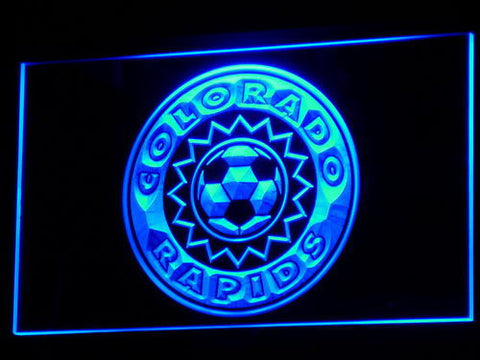 Colorado Rapids LED Neon Sign - Legacy Edition - Blue - SafeSpecial