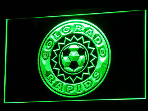 Colorado Rapids LED Neon Sign - Legacy Edition - Green - SafeSpecial