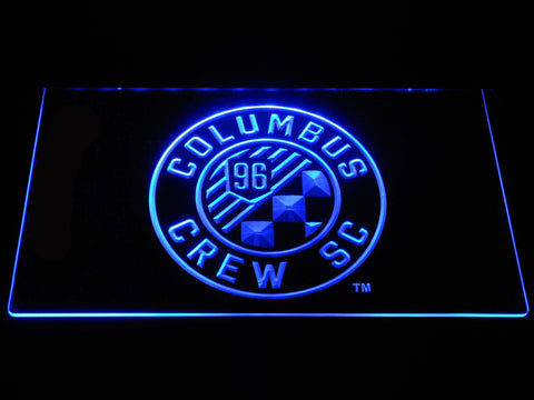 Columbus Crew SC LED Neon Sign - Blue - SafeSpecial