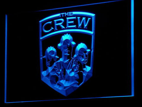Columbus Crew SC LED Neon Sign - Legacy Edition - Blue - SafeSpecial