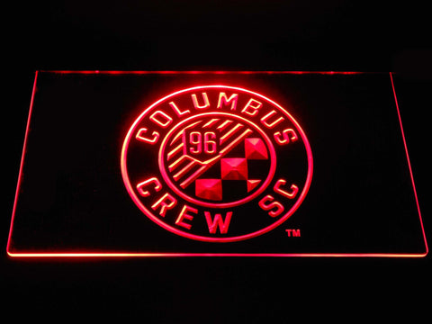 Columbus Crew SC LED Neon Sign - Red - SafeSpecial