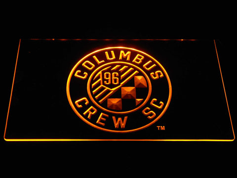 Columbus Crew SC LED Neon Sign - Yellow - SafeSpecial