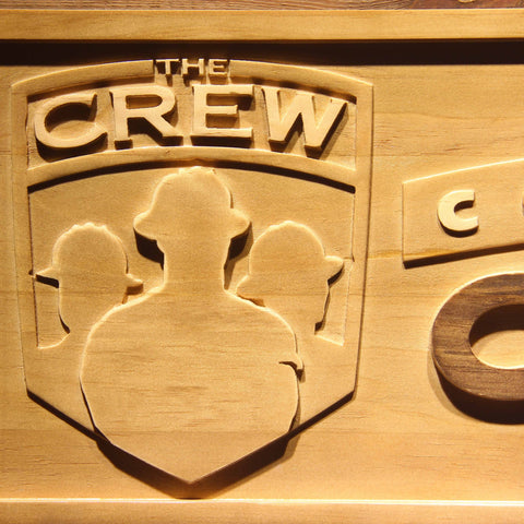 Columbus Crew SC Wooden Sign - Legacy Edition - - SafeSpecial