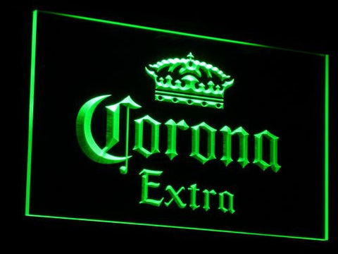Corona Extra LED Neon Sign - Green - SafeSpecial