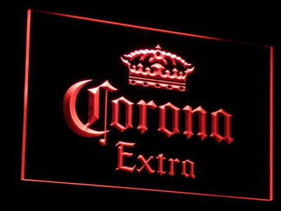 Corona Extra LED Neon Sign - Red - SafeSpecial