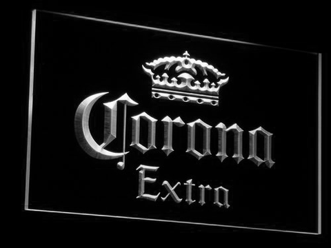 Corona Extra LED Neon Sign - White - SafeSpecial