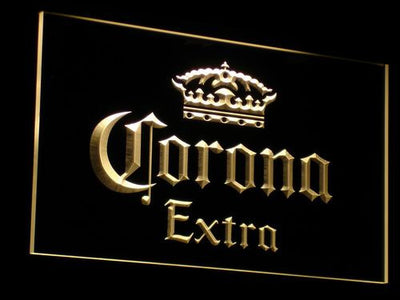 Corona Extra LED Neon Sign - Yellow - SafeSpecial