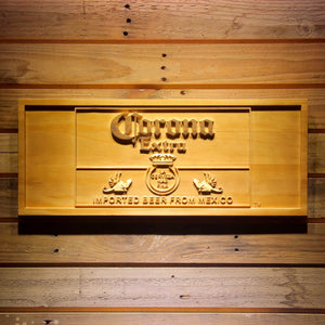 Corona Extra Mexico Wooden Sign - Small - SafeSpecial