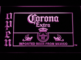 Corona Extra Open LED Neon Sign - Purple - SafeSpecial