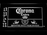 Corona Extra Open LED Neon Sign - White - SafeSpecial