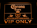 Corona Extra VIP Only LED Neon Sign - Orange - SafeSpecial