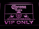 Corona Extra VIP Only LED Neon Sign - Purple - SafeSpecial