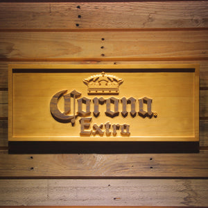 Corona Extra Wooden Sign - Small - SafeSpecial
