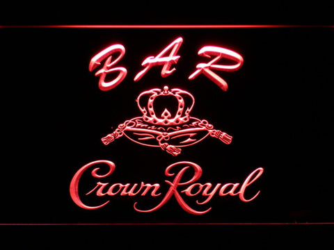 Image of Crown Royal Bar LED Neon Sign - Red - SafeSpecial