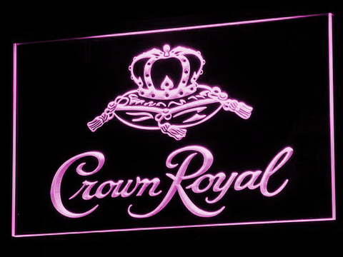 Image of Crown Royal LED Neon Sign - Purple - SafeSpecial
