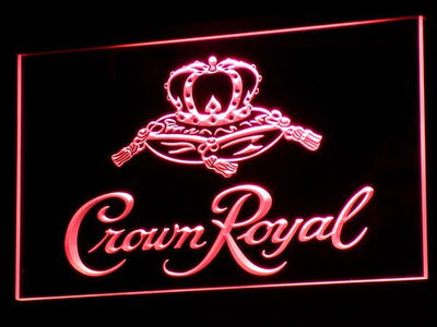Crown Royal LED Neon Sign - Red - SafeSpecial