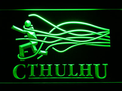 Cthulhu LED Neon Sign - Green - SafeSpecial