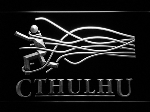 Image of Cthulhu LED Neon Sign - White - SafeSpecial