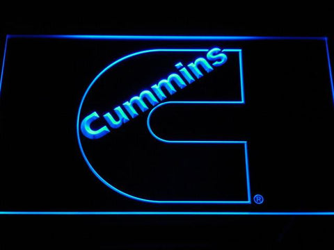 Image of Cummins LED Neon Sign - Blue - SafeSpecial