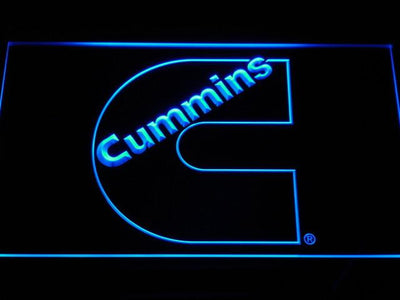Cummins LED Neon Sign - Blue - SafeSpecial