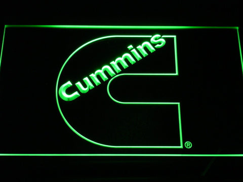 Image of Cummins LED Neon Sign - Green - SafeSpecial