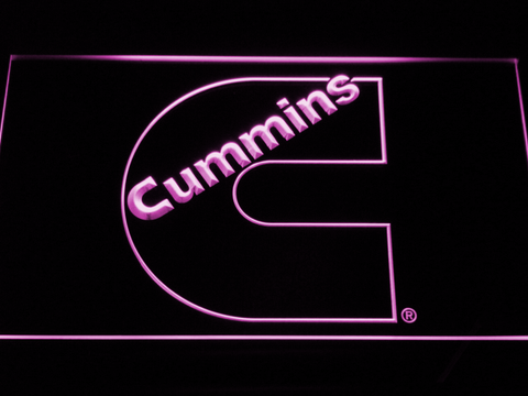 Image of Cummins LED Neon Sign - Purple - SafeSpecial