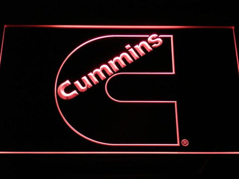 Image of Cummins LED Neon Sign - Red - SafeSpecial
